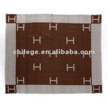 Jacquard cahsmere gewebte Bettdecken / Decken