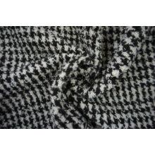 Three Different Styles of Black&White Wool Fabric