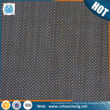 200 micron square twill weave iron black wire mesh cloth