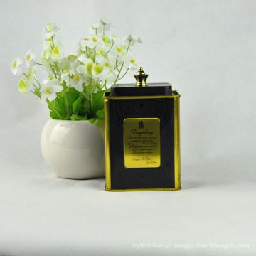 Metal Gift Tin, embalagem de tubo de estanho, embalagem de lata de lata de café