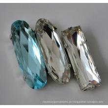 Grânulos de cristal para o vestuário, decoração para o ofício, vestido de casamento