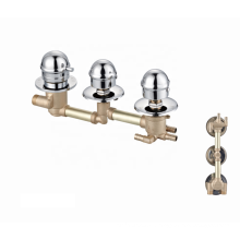 Factory bathroom mixer faucets tap wall mounted  thermostatic shower faucet