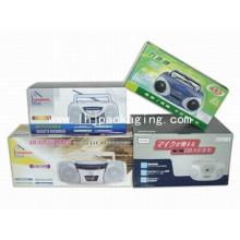 Caja de cartón plegable de lujo para embalaje electrónico