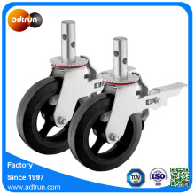 Cast Iron Hub Rubber Caster for Scaffold