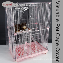 2017 Doglemi Animal EVA Visuable Waterproof Cat Crate Covers