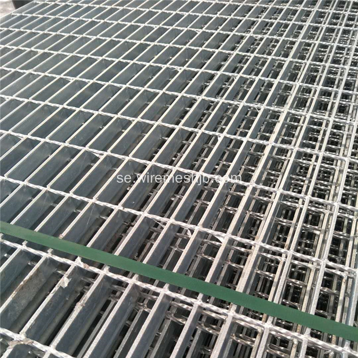 Flat Shape Hot Dipped Galvaniserad Steel Grating