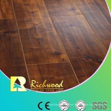 Commercial HDF Embossed Oak V-Grooved Waterproof Laminate Flooring