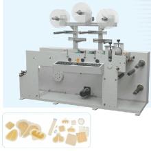 Pegamento etiqueta engomada que forma la máquina