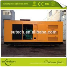 Generador diesel silencioso de 60hz 220V 440V 460V 480V 950KW accionado por el motor CUMMINS