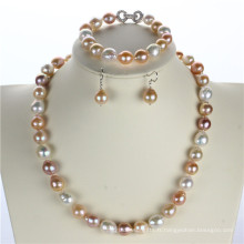 Snh Cheap Price 925silver Jewelry, Pearl Set Wholesale