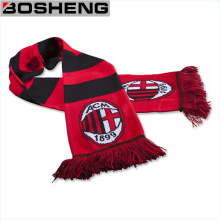 Acrylic Joint Jacquard Knit Sport Fan Soccer Football Scarf