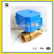 Válvulas motorizadas CWX60p DC12V, engranaje de matel, mini válvula eléctrica de larga vida para el sistema de filtro de agua