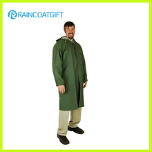 Verde Cor Adulto PVC Poliéster Longo desgaste de chuva