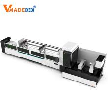 Máquina de corte a laser de tubo redondo quadrado 1000W