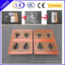 Moule de cachetage de papier de boursouflure de PVC