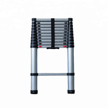 3.2M 10 steps aluminium retractable ladder EN131-6