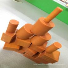 Forma redonda fenólico laminado baquelita y piezas CNC