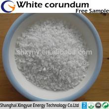 High purity 99.3%min white fused alumina granular grit white corundum for refractory/abrasive