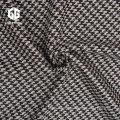 Baumwoll-Hahnentritt-Jacquard-Stoff für Bekleidungszubehör