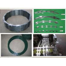 PVC Coated Glvanized Iron Razor Barbed Wire