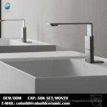 Neues Modell Badezimmer Deck montiert CUPC Edelstahl Wasserbecken Wasserhahn