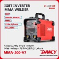 Dancy inverter Portable DC MMA Hot Start Welding Machine ARC welding machine