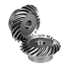 Gear Bevel Spiral Transmission Steel Precision Tinggi