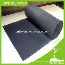 fieltro de fibra de carbono activado para resistencia a los álcalis