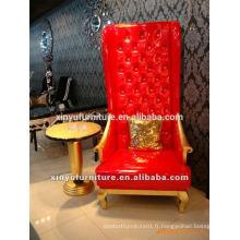 Lobby d'hôtel Chaise en cuir artificiel XYD102
