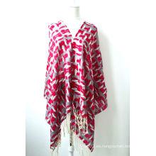 Mantón estampado de lana (12-BR020302-2)