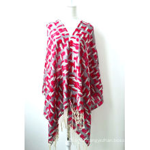 Wool Printed Shawl (12-BR020302-2)