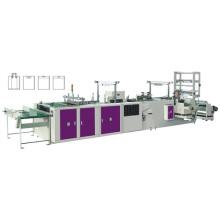 Machine de fabrication de sacs à poignée douce et pleine automatique