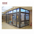 Free Standing Sun Rooms Aluminium Glass Garden House from China
