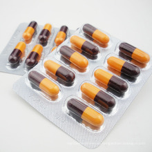 Cápsula de liberación sostenida de ibuprofeno 200 mg