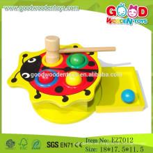 OEM Venta al por mayor escarabajo de madera juguetes educativos martillo juguetes libra juguetes