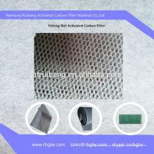 Klimaanlage Aktivkohlefilter Schwamm Fischernetz