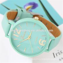 Yiwu выразить верхней продажи простой повседневной носки классический кварцевые часы дамы женщин