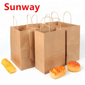 Kleine Kraftpapier-Food-Bag