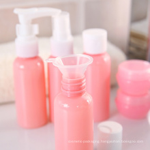 Pet Cosmetic Plastic Bottle for Travel Makeup Bottle (PT03)