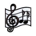 Fer à repasser musical sur patches brodés