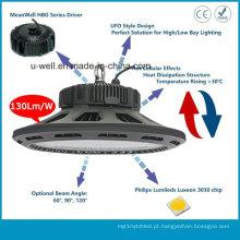 Salão de compras LED Highbay Light com design UFO