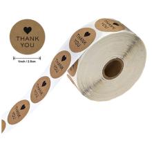NX044 Custom Waterproof Adhesive Packaging Polyester Sticker printing Label