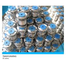 Válvulas de bola flotantes flotantes de acero inoxidable API