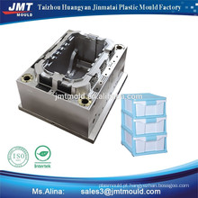 injeção plástica transparente multiplicar caixa molde fabricação de fábrica na China