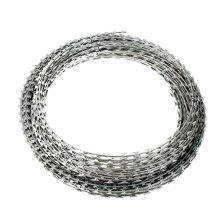 Galvanized barbed wire mesh stainless steel  barb fence for protection