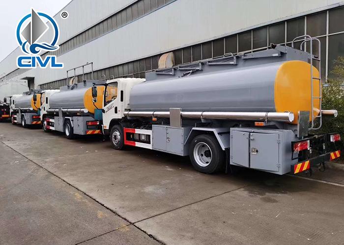4x2 Fuel Tank Truck Jiefang 1