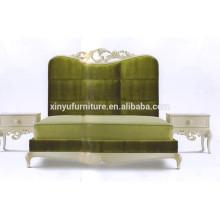 Sculpture en bois massif de style européen meubles classiques BD8050