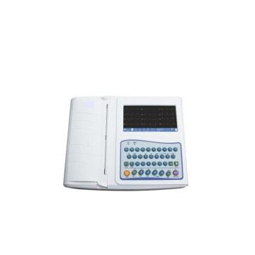 Máquina de ECG portátil de 12 canales