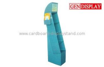 Corrugated Cardboard Book Display Stands With Pockets, Book