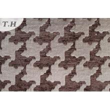 Chenillle геометрические жаккард подушки ткань (fth31930)